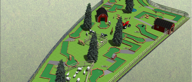 The Log Depot - Mini Golf Design and Construction